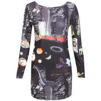 View Item Long Sleeve Cosmic Dress